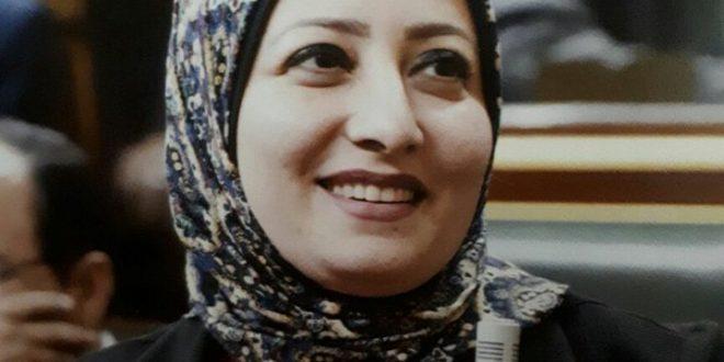 هيام حﻻوة نائبة الوراق تأييد السيسى لفترة رئاسية قادمة