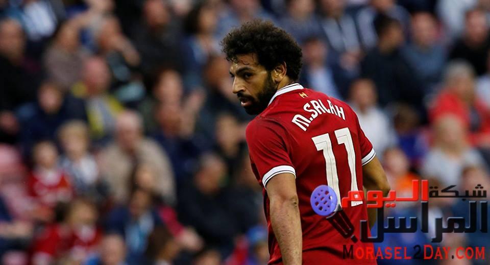 ريال مدريد الاسباني يغازل النجم المصري محمد صلاح