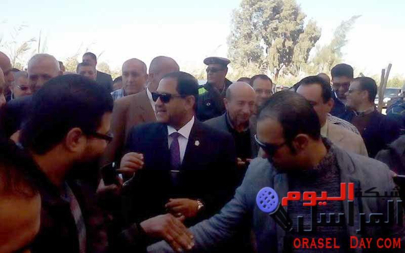 محافظ الغربية يشارك فى سبوع أول مولودفرحا بإنجازات عبد الفتاح السيسي رئيس الجمهورية