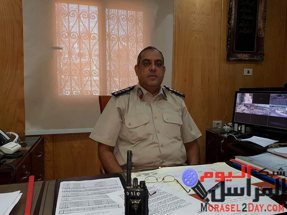 ضباط مرور الفيوم نماذج مشرفة لضباط الشرطة المصرية