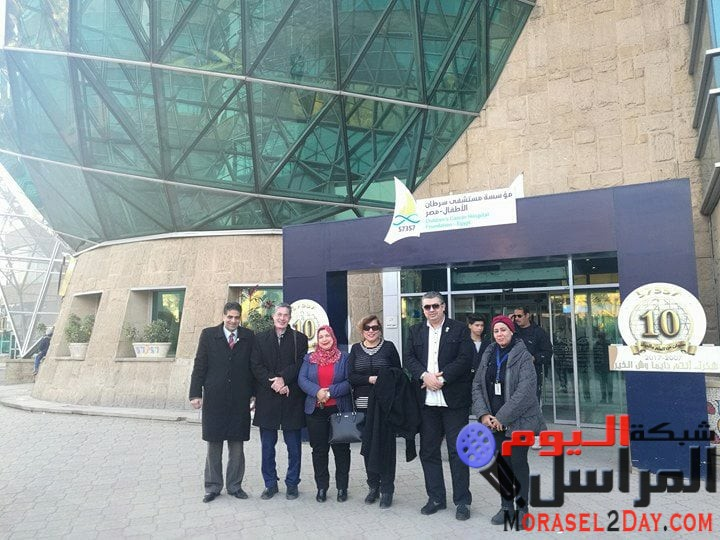 زيارة وفد الاتحاد الدولي للصحافة العربية (مكتب القاهرة) لمستشفي 75375