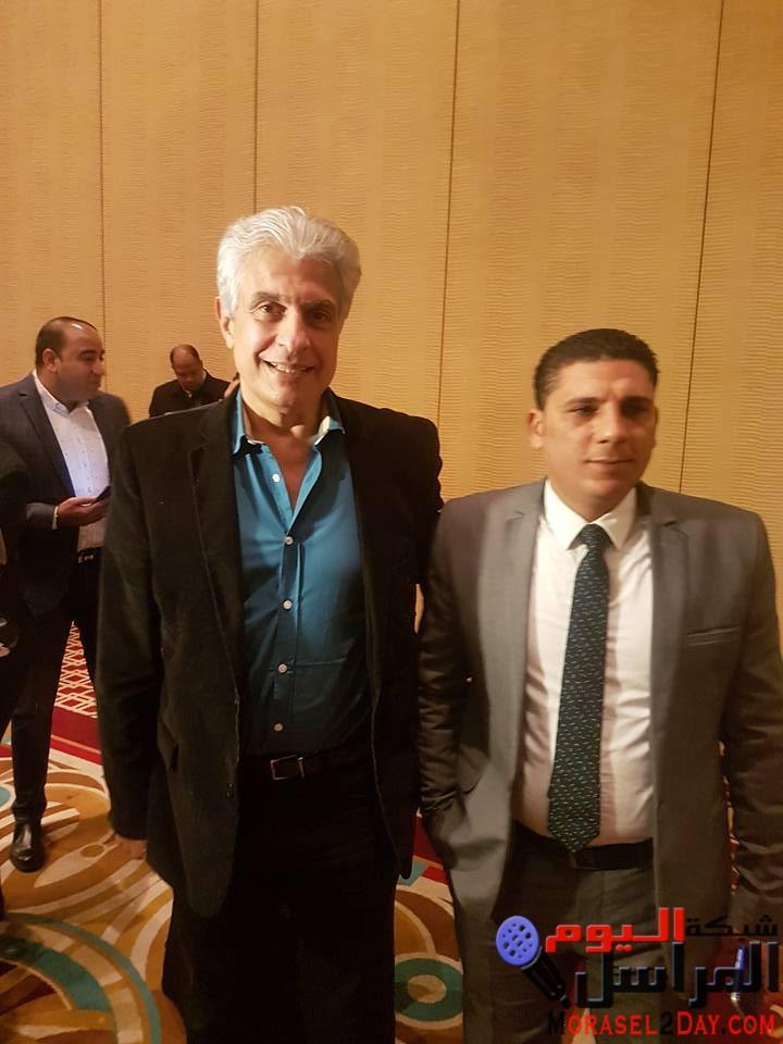 الفنان تامر عبد المنعم يوقع مؤلفة الأول مذكرات فلول بفندق ريتز كارلتون  بحضور الإعلاميين