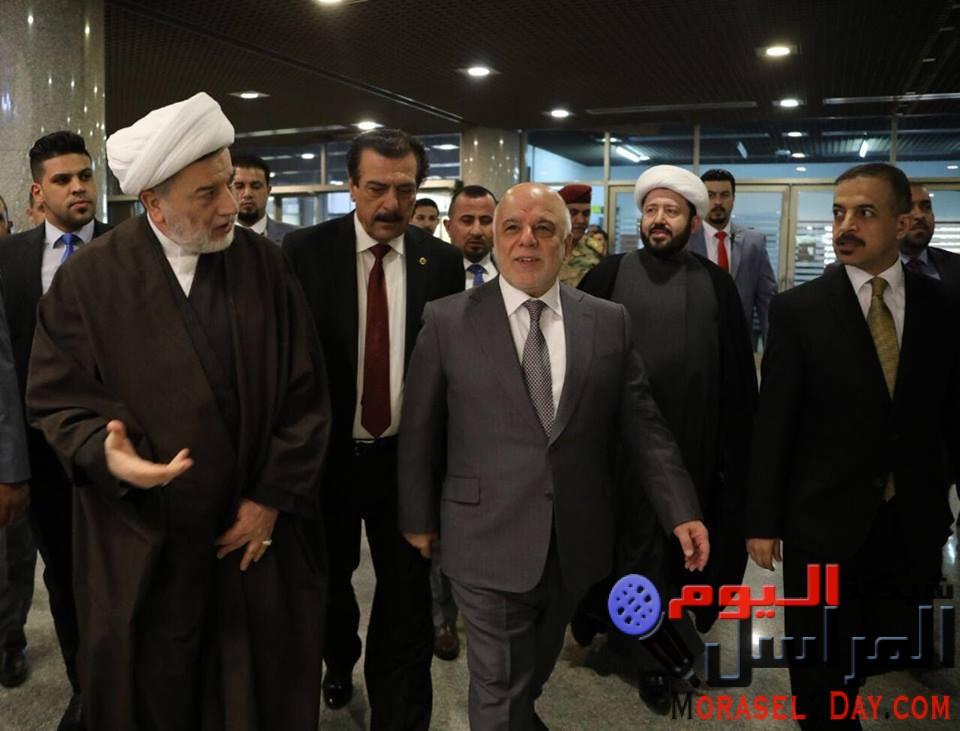 أمر بخفض ميزانية كردستان  رئيس الوزراء العراقي في خطوات النجدة والإصلاح