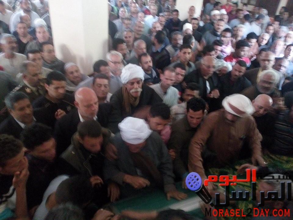 """تشييع جثمان شهيد سيناء """"رمضان حمدان"""" بمسقط رآسه بالقليوبية"""