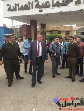 """مدير أمن القليوبية يتفقد أماكن لجان """"الانتخابات الرئاسية"""""""