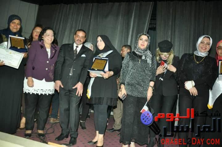 بالصور تكريم الامهات المثاليات بمكتبة مصر الجديدة تحت رعاية مؤسسة مصر الحياة