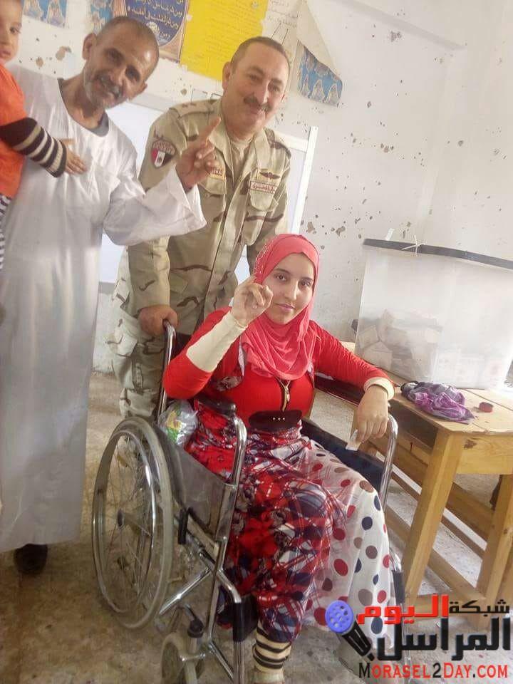 """""""المجلس القومي لشئون الإعاقة"""" : تلقينا 200 إشادة حول مساعدة المستشارين ورجال الجيش والشرطة للأشخاص ذوي الإعاقة"""