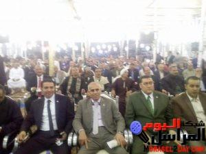 """حملة """" كلنا معاك من أجل مصر""""تنظم مؤتمرا جماهيريا حاشدا فى شبين القناطر بمحافظة القليوبية،"""