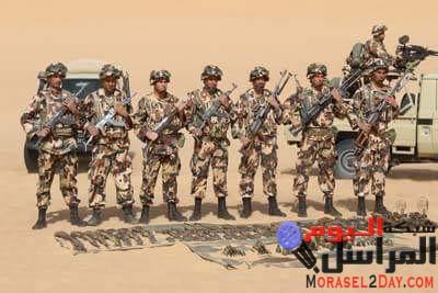 الوضع الأمني في الجزائرإستسلام إرهابي بحوزته رشاش وذخيرة