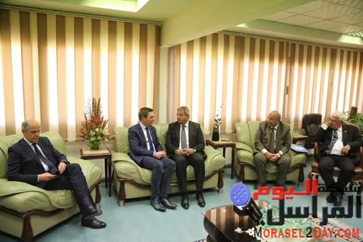 وزير الرياضة يبحث مع رئيس الاتحاد الدولى للدراجات استضافة مصر لبطولة العالم للناشئين 2019