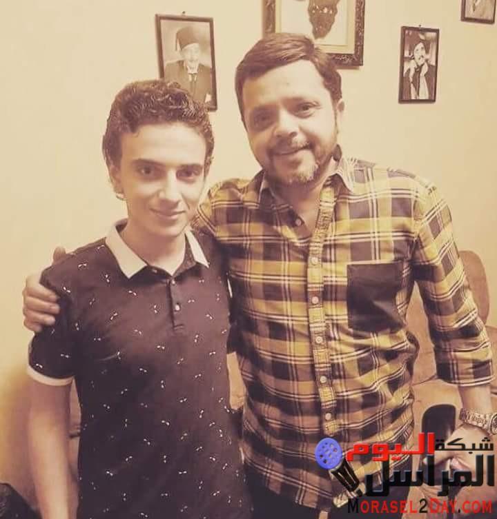 بالصور محمد هنيدي يهنئ اسامه طلبه بعيد ميلاده