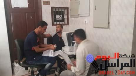 احاله 6 أطباء و14موظف بالوحدات الصحيه لمدينه سمسطا جنوب غرب بنى سويف للتحقيق