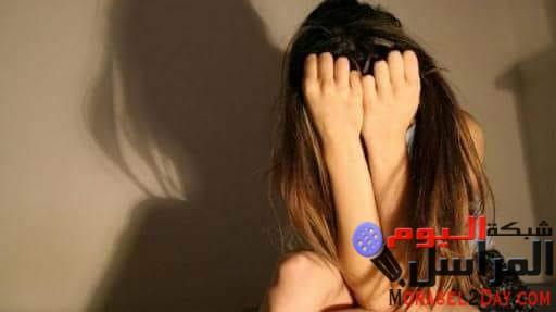 فتاة تضع طفل بعد حملها من والدها بالمنوفية