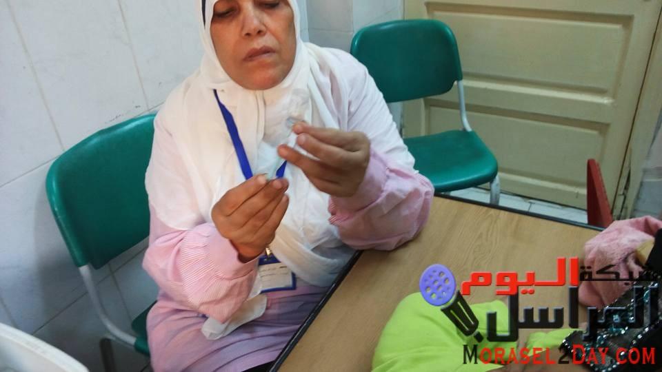 افتتاح فاعليات ادخال طعم شلل الاطفال سولك لجدول التطعيمات الإجبارية