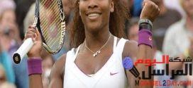 وليامز أنا من بين كل لاعبات التنس الأكثر خوضا لأختبار المنشطات