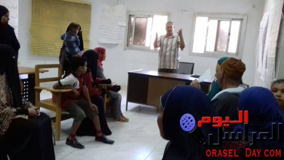 التوعية والتثقيف الصحي في ابشواى تقيم ندوة عن الفيروسات الكبدية