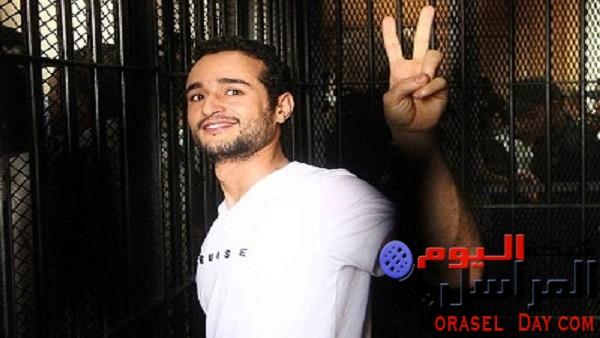 """غداً.. إعادة محاكمة """"أحمد دومة"""" في قضية """"أحداث مجلس الوزراء"""""""