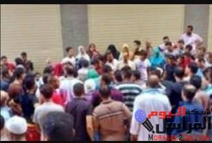 """مصرع """"عارف"""" بسبب ونش مواد بناء بالمحله"""