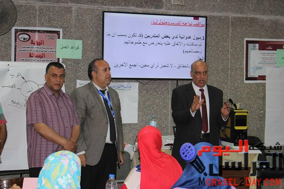 إنطلاق برنامج إعداد كوادر مدربين لتدريب معلمى رياض الأطفال على نظام التعليم المصرى 2.0 الجديد .