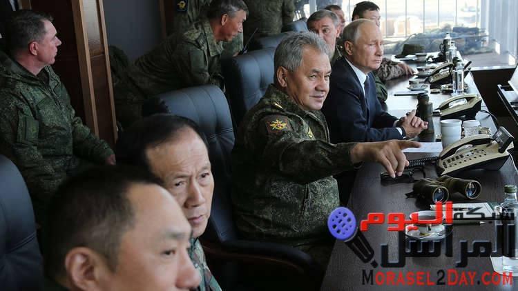 بوتن في مناورات الموت القادم من الشرق يستعد للحرب أولاً و يحارب ثانيا