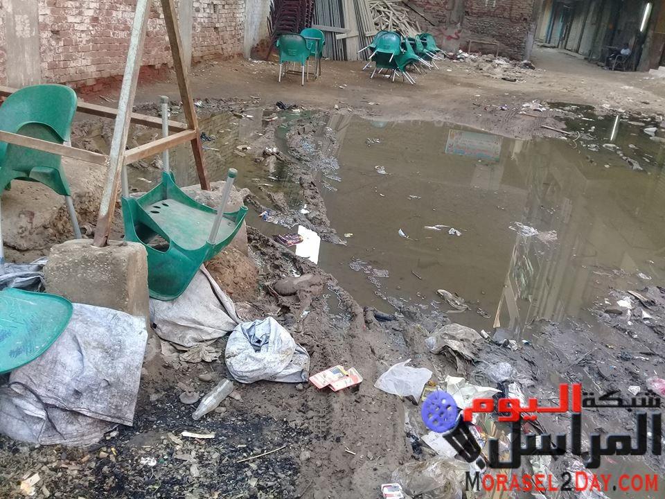 """أهالى """"شوارع منطقة لعبة ببشتيل"""".. الصرف الصحي يهدد حياتنا والمسؤولين في غياب تام"""