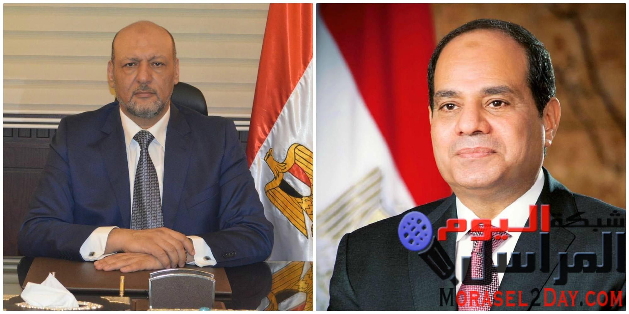 """""""مصر الثورة"""" يشيد بمبادرة السيسي: تقدير من الرئيس لشعبه"""