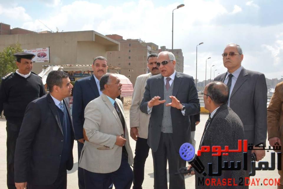 """بعد زيارة مفاجئة لحى """"شمال الجيزة"""" مجازاة مشرفى النظافة بإمبابة"""