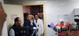 رئيس الوزراء المصري يزور مستشفي التأمين الصحي بالفيوم