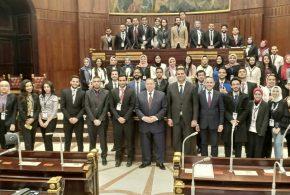 وكيل أول النواب يفتتح نموذج محاكاة لمناقشة التعديلات الدستورية الحالية لطلاب  جامعة الاسكندرية