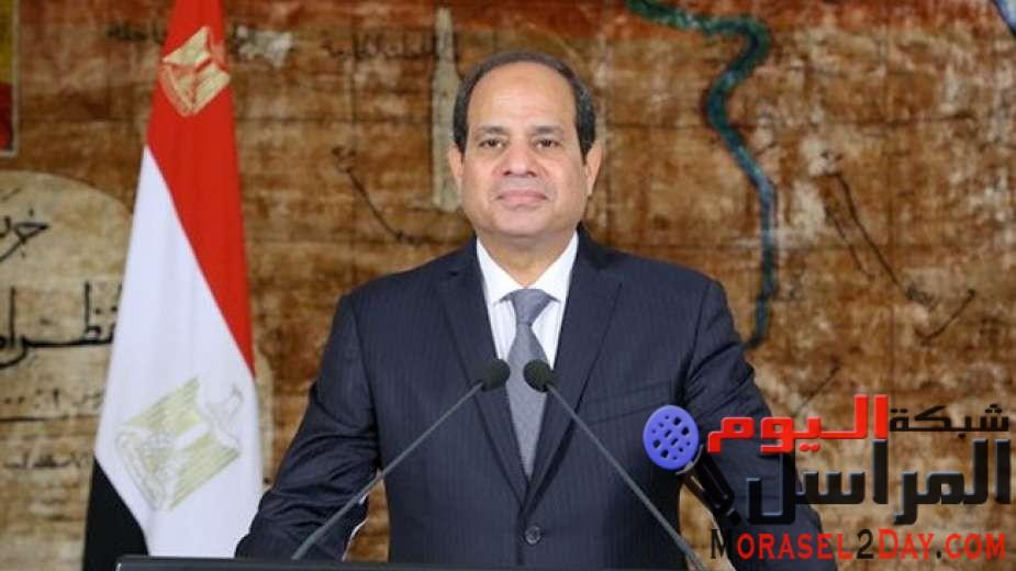 الرئيس السيسي موجهًا التحية للشباب: أنتم سر قوة مصر