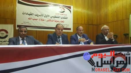 الفيومي وعلام أمام منتدى الحرية المصري: المجالس الشعبية المحلية ستواجه فساد المحليات