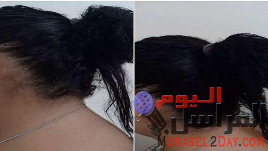 """عشان تستري نفسك.. """"نانسي"""" تفقد شعرها في المترو على يد """"منقبة"""