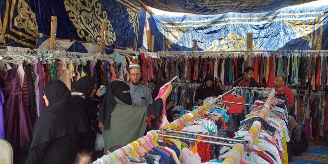 """بمناسبة عيد الأضحى """"مستقبل وطن"""" الجيزة يطلق معرضاً للملابس والسلع الغذائية"""