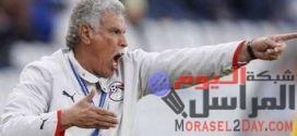 حسن شحاتة مدربا لمنتخب مصر ومحمد شوق مدربا عاما ومتعب مساعدا