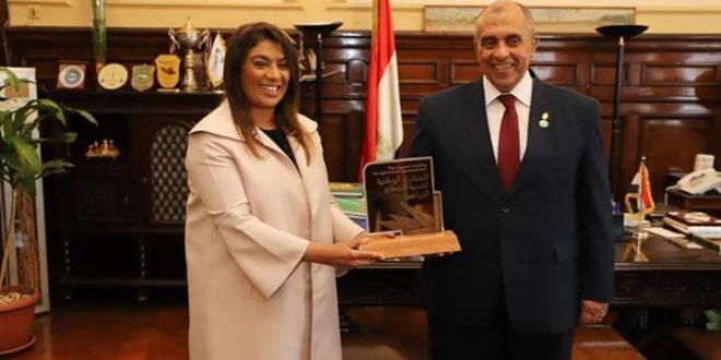 وزير الزراعة يستقبل رئيس العلاقات الدولية بالمبادرة الوطنية لتنمية قطاع الزراعة في البحرين