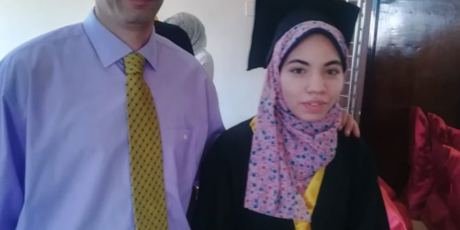 تكريم نجلة الأستاذ أحمد سلامه بالقرية الفرعونية بنادى المعلمين اليوم