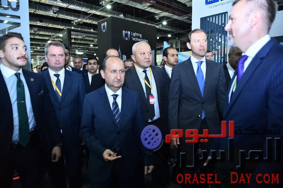 بمشاركة 110 شركة دولية  وزيرا التجارة والصناعة بمصر وروسيا يفتتحان فعاليات المعرض والمنتدى التجاري للأسبوع الصناعي الكبير