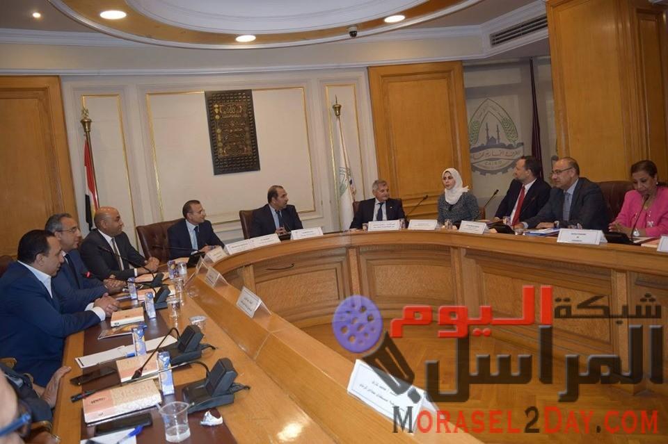بعد توقيع بروتوكول تعاون بين تجارية العاصمة والغرفة المصرية الايطالية