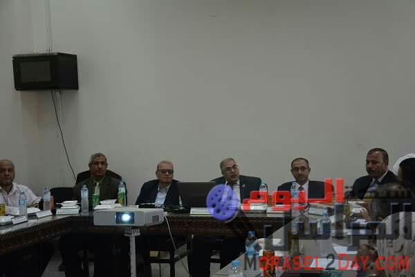 انعقاد مجلس شئون خدمة المجتمع وتنمية البيئة بجلسته رقم 144 بجامعة الفيوم