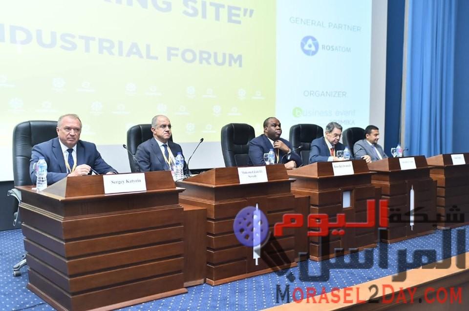 عمرو انشاء المنطقة الصناعية الروسية بمصر وتطورات مفاوضات اتفاق التجارة الحرة مع الاتحاد الاوراسى