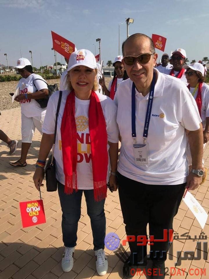 بمشاركة 22 دولة روتاري مصر ينظم مسيرة السلام بـ شرم الشيخ