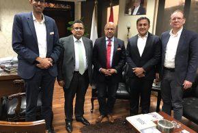 «تنمية التجارة» يلتقي اكبر شركات اللوچيستيات في العالم لتعظيم استثماراتها في مصر