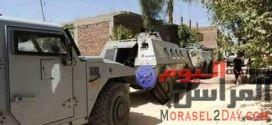 ضبط اسلحه ناريه وقطع حشيش في حملة أمنية بسوهاج