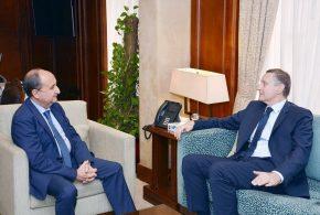 وزير التجارة والصناعة يبحث مع سفير المانيا بالقاهرة مستقبل التعاون الاقتصادي بين البلدين
