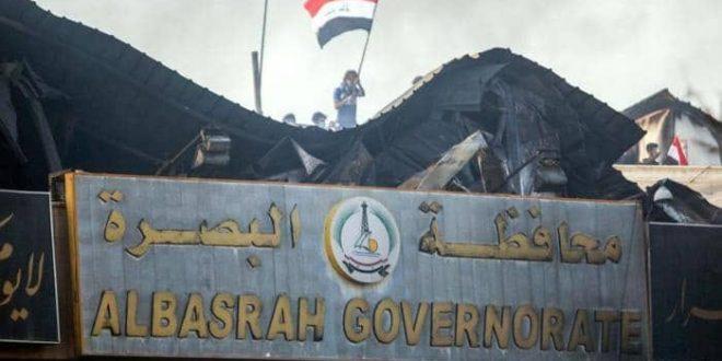 المحتجون في محافظة البصرة أعادوا إغلاق ميناء أم قصر