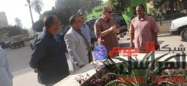 محافظ الفيوم يشهد خطة الزراعة بإعادة تجميل وتشجير ميدان دار رماد