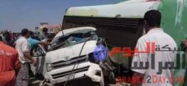 مصرع وإصابة ١١ شخص علي طريق محور 30 يوليو ببورسعيد في فجر يوم الجمعة
