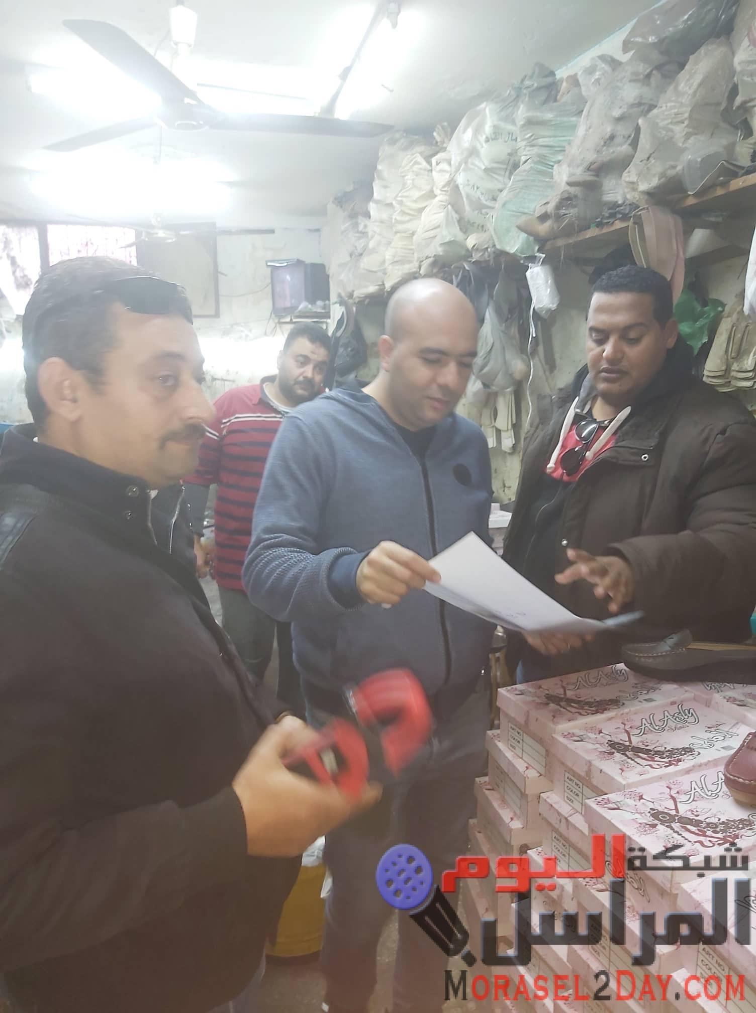 """بالصور…حملة مكبرة لكهرباء """"وسط القاهرة"""" لضبط السرقات والمخالفات"""