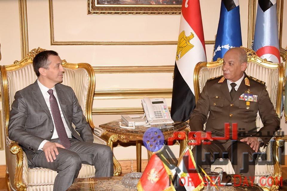 الفريق أول / محمد زكى القائد العام للقوات المسلحة يلتقى وزير دفاع جمهورية الجبل الأسود …