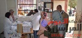 فحص ( ١٨٠٨ ) مريض بالقافلة العلاجية بقرية شكشوك